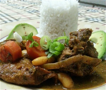 Foto Jamaican curried goat stew - Large.